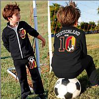 Спортивный трикотажный костюм для мальчика с 6 мес до 3 лет