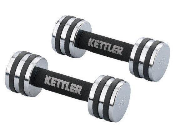 Гантели для фитнеса хром KETTLER 5кг
