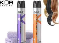 Лак для волос Объем и Блеск Kur Volumen 400 мл