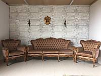 Мягкая мебель в стиле рококо.