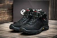 Зимние мужские кроссовки Ecco Biom, мужские, на меху, черные