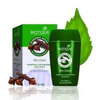 Очищающая Маска для лица Био Гвоздика 85 г, Биотик Bio Clove Face pack 85 g, Biotique