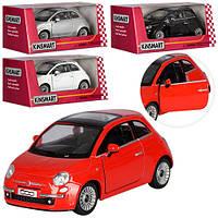 Машинка KT 5345 W,  металл, инерционная, 12, 5см, 1:28, откр.дв, рез.колеса, 4 цвета, в коробке, 16-7-8см