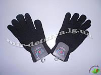 Перчатки мужские оптом, Польша ТМ YO. р.23 черный