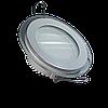 Светодиодная панель (врезная) круг 6Вт, 97мм, со стекляной рамкой