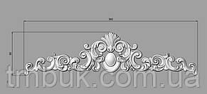 Горизонтальный декор 106 - 360х90 мм, фото 2