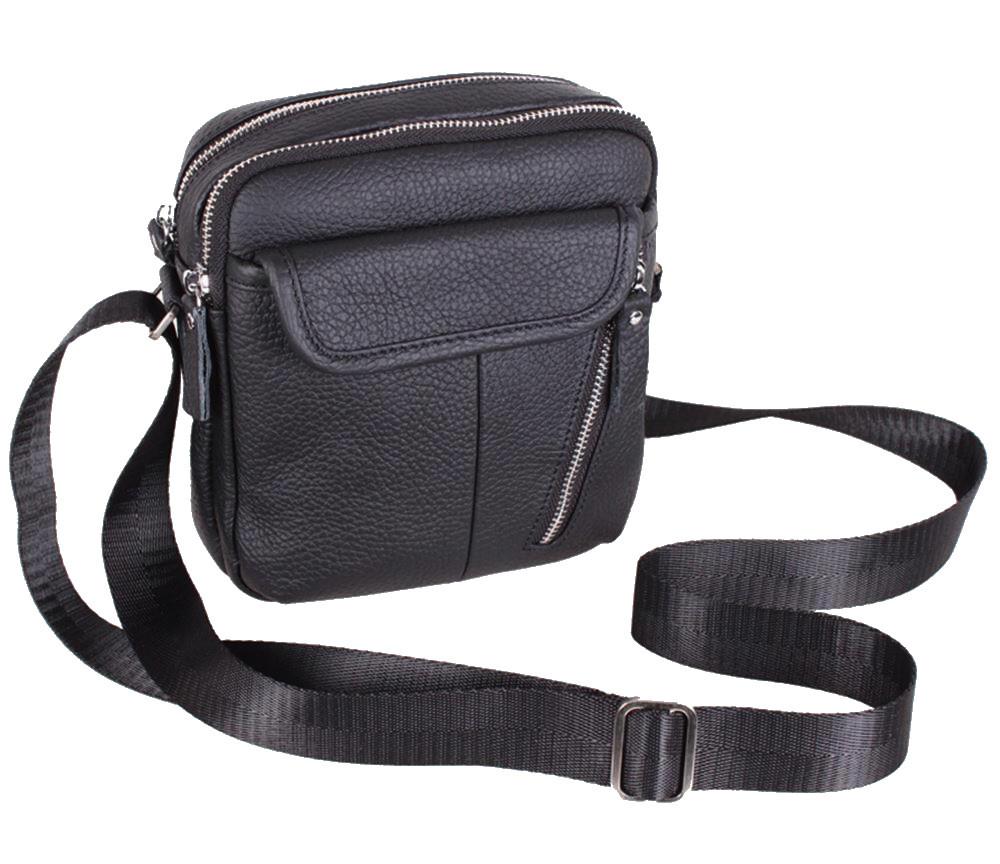 Кожаная мужская сумка 140014