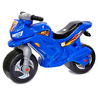 Мотоцикл для катания Ориончик с сигналом (синий), толокар - каталка детская орион Украина 501