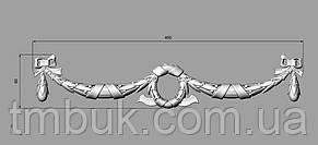 Горизонтальный декор 108 подвески - 450х90 мм, фото 2