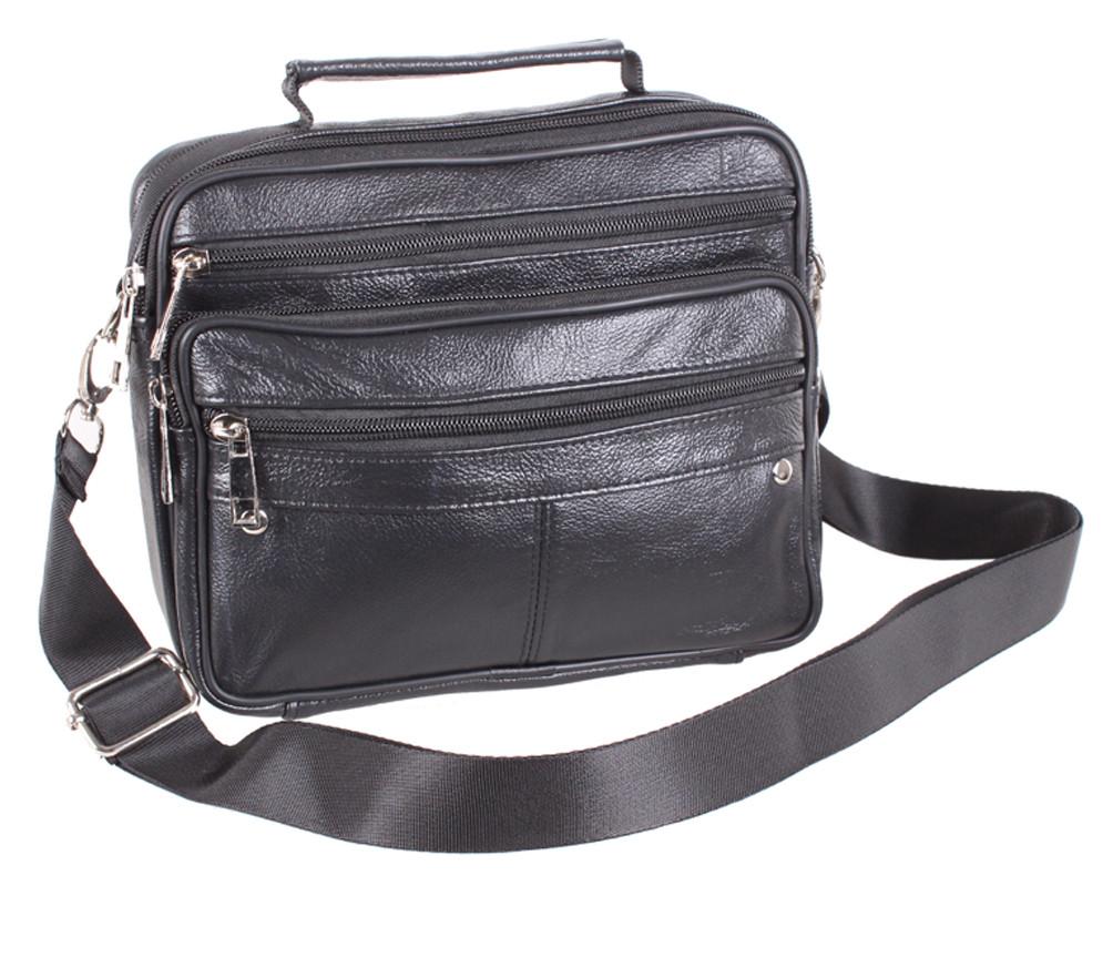 Кожаная мужская сумка 140026