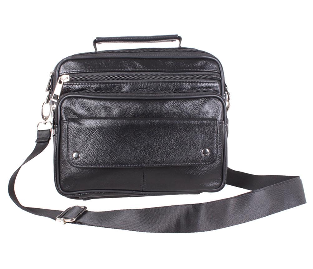 Кожаная мужская сумка 140027