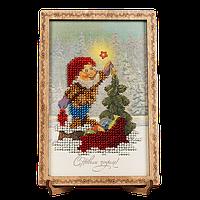 Вышивка Бисером Открытка для вышивания бисером FLO-061 Волшебная страна Украина