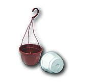 Горшок подвесной + крючок, Kloda 4,5 литра