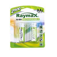 Аккумуляторы R6 Raymax 2500 mA (AA)