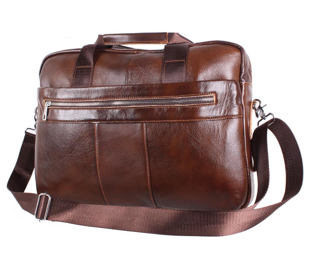 Кожаная мужская сумка 140030