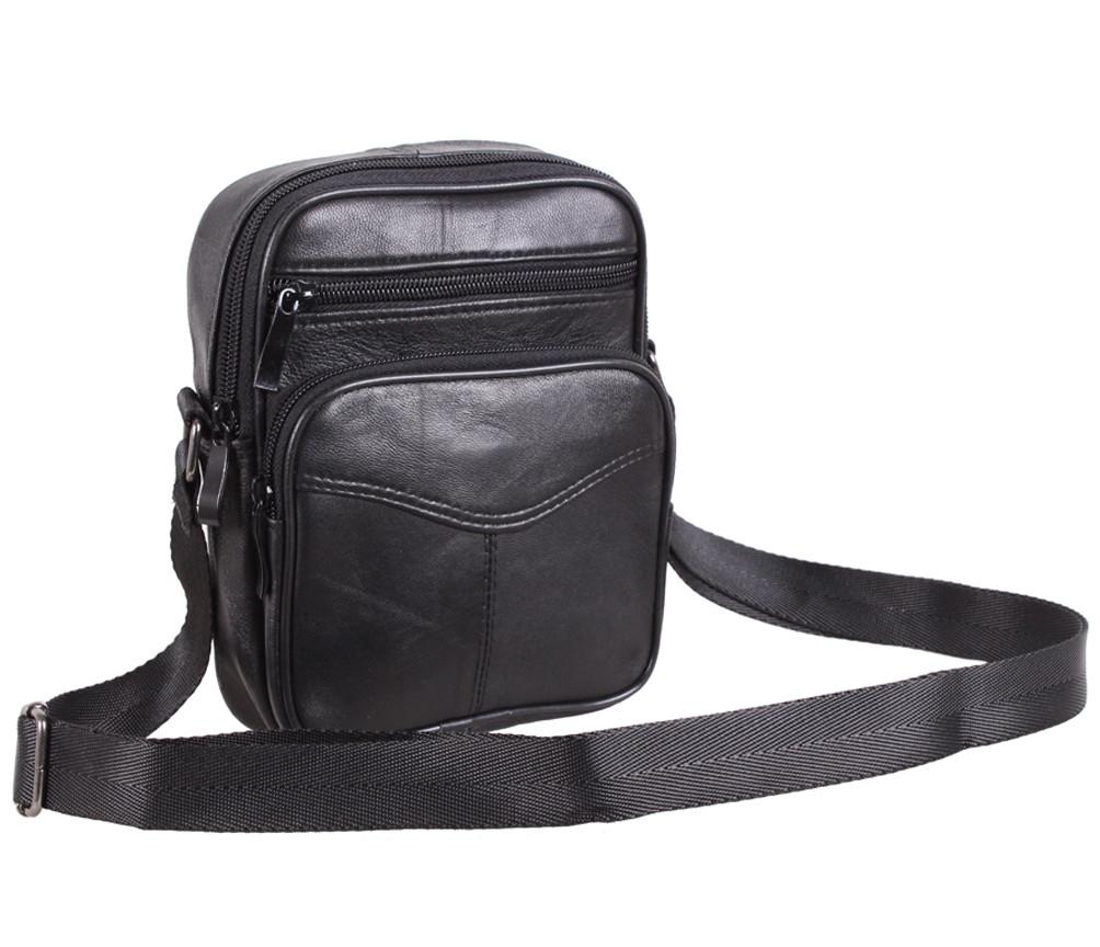 Кожаная мужская сумка 140037