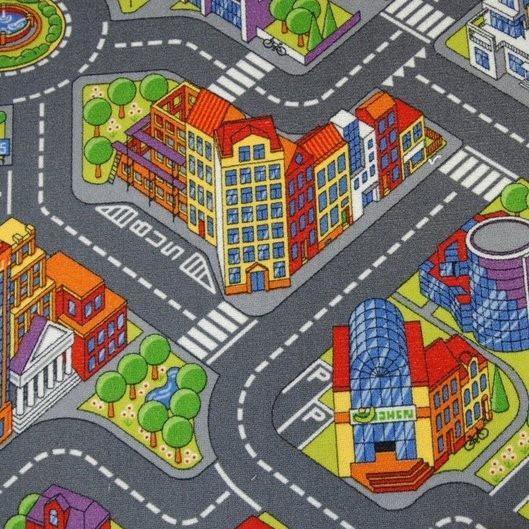 Детский ковролин Биг Сити