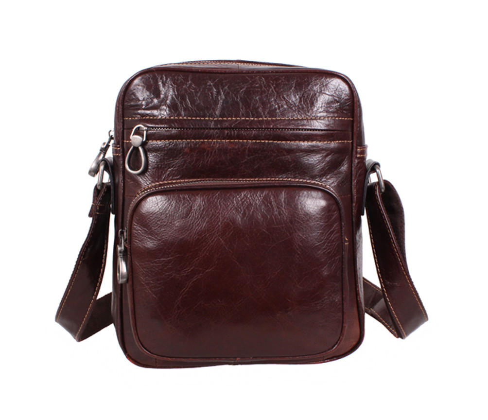 Кожаная мужская сумка 140041