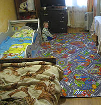 Детский ковролин Биг Сити, фото 3