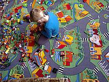 Ковер в детскую комнату с дорогой Вилыдж, фото 3