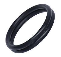 Эрекционное кольцо Rocks Off Rudy-Rings Black, сдвоенное, эластичное, фото 1