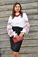 Женская блуза с вышивкой Ж15-212