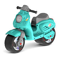 Мотоцикл каталка (мотобайк), Скутер для катания Ориончик (бирюзовый), 502