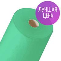 Простынь одноразовая в рулоне - 100 м* 60 см. Зеленая