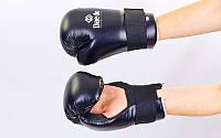 Перчатки для тхэквондо PU DAE  (р-р S-L, черный)