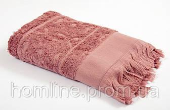 Рушник Tac Royal Bamboo Jacquard рожеве 50*90