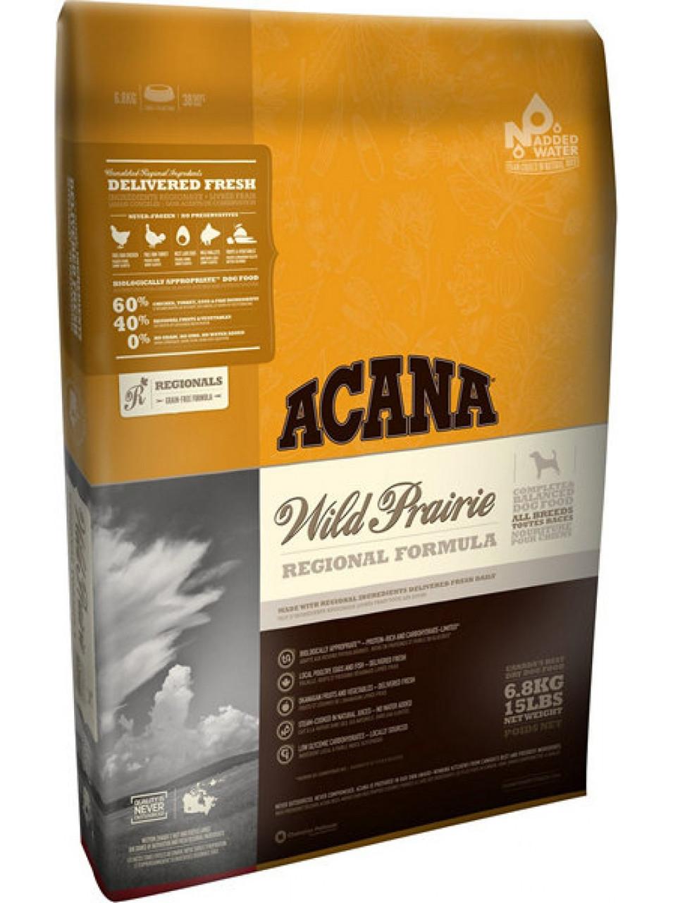 Корм для собак Acana Wild Prairie 6кг