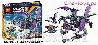 """Конструктор BELA Nexo Knights """"Летающая Горгулья"""" 10702 аналог LEGO 70353"""