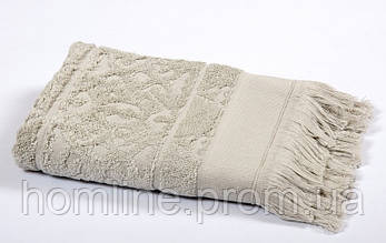 Полотенце Tac Royal Bamboo Jacquard серое 50*90