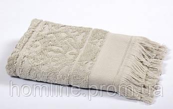 Рушник Tac Royal Bamboo Jacquard сіре 50*90