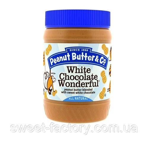 Арахисовое масло Peanut Butter & Co White Chocolate 454 g