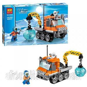 """Детский конструктор Bela 10438 (аналог Lego City 60034) """"Арктический гусеничный вездеход"""""""