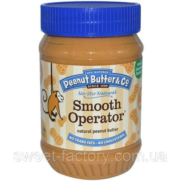 Арахисовое масло Peanut Butter & Co Smooth Operator 454 g
