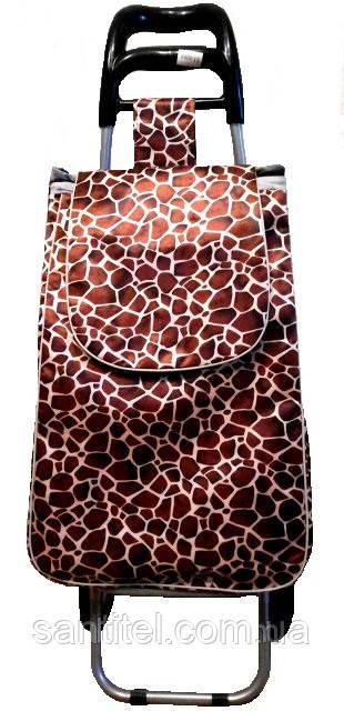 """Тележка с сумкой """"Жирафик"""""""