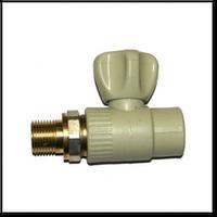 Кран радиаторный прямой шаровой 20 мм K.L.D