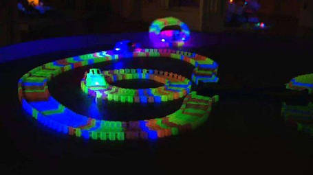 Детский гоночный трек Twister Tracks 7788 светящийся (аналог Magic Tracks), фото 2