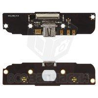 Шлейф для мобильного телефона Meizu MX, коннектора зарядки, с компонентами