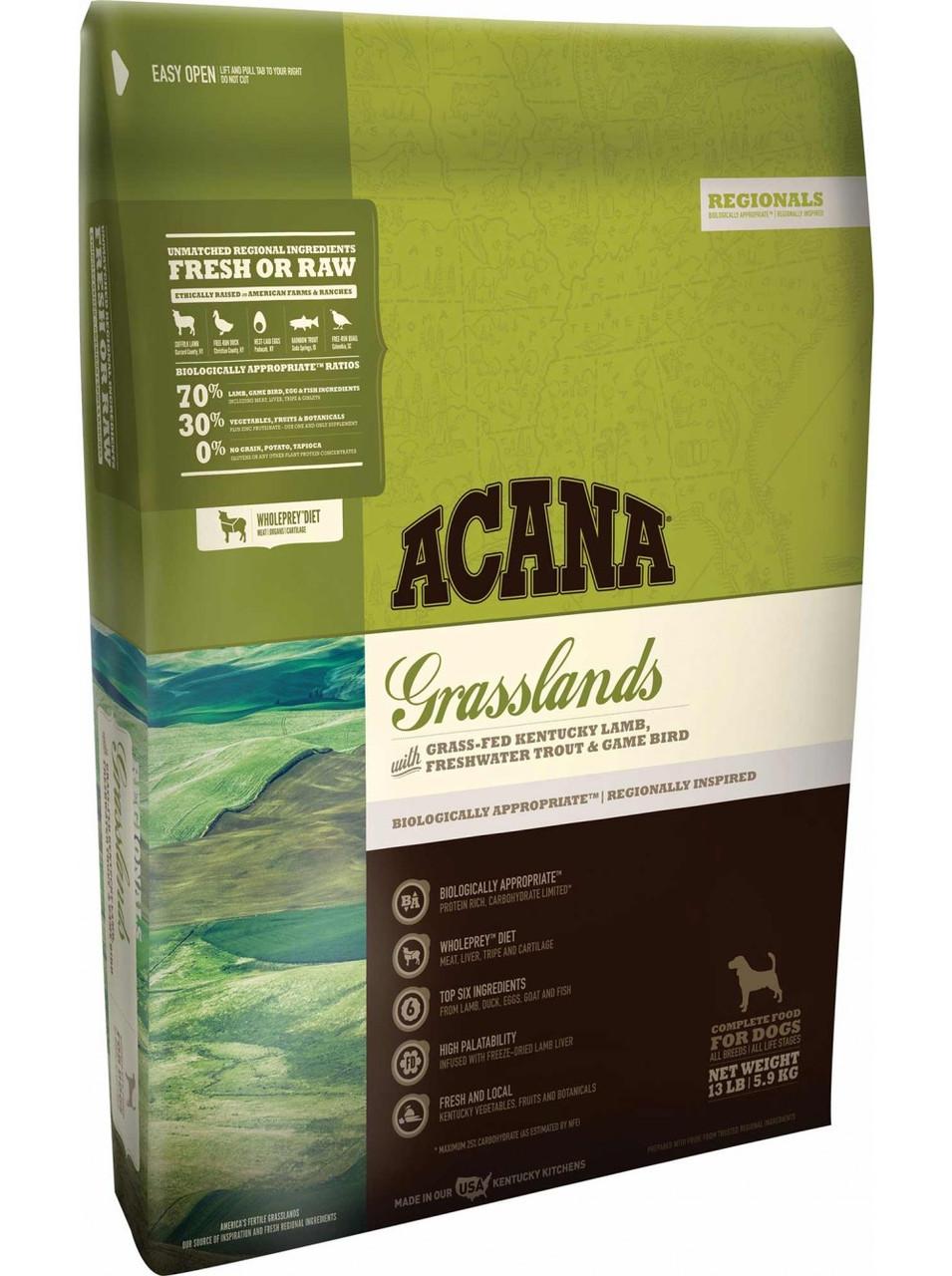 Корм для собак Acana Grasslands 6кг