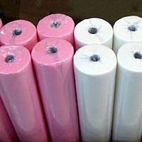 Простынь одноразовая в рулоне - 500 м* 80 см . Очень плотные 23. Супер качество.цвет в ассортименте