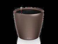 Вазон 21 Classico LS, Кофе-металлик, Lechuza 20*21 см
