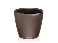 Вазон 35 Classico LS, эспрессо отлив, Lechuza 33*35 см