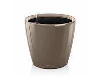 Вазон 50 Classico LS, серо-коричневый, Lechuza 47*50 см