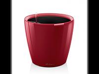 Вазон 50 Classico LS, красный глянец, Lechuza 47*50 см