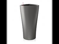 Вазон Delta 30, антрацитовый металлик, Lechuza 56*30 см