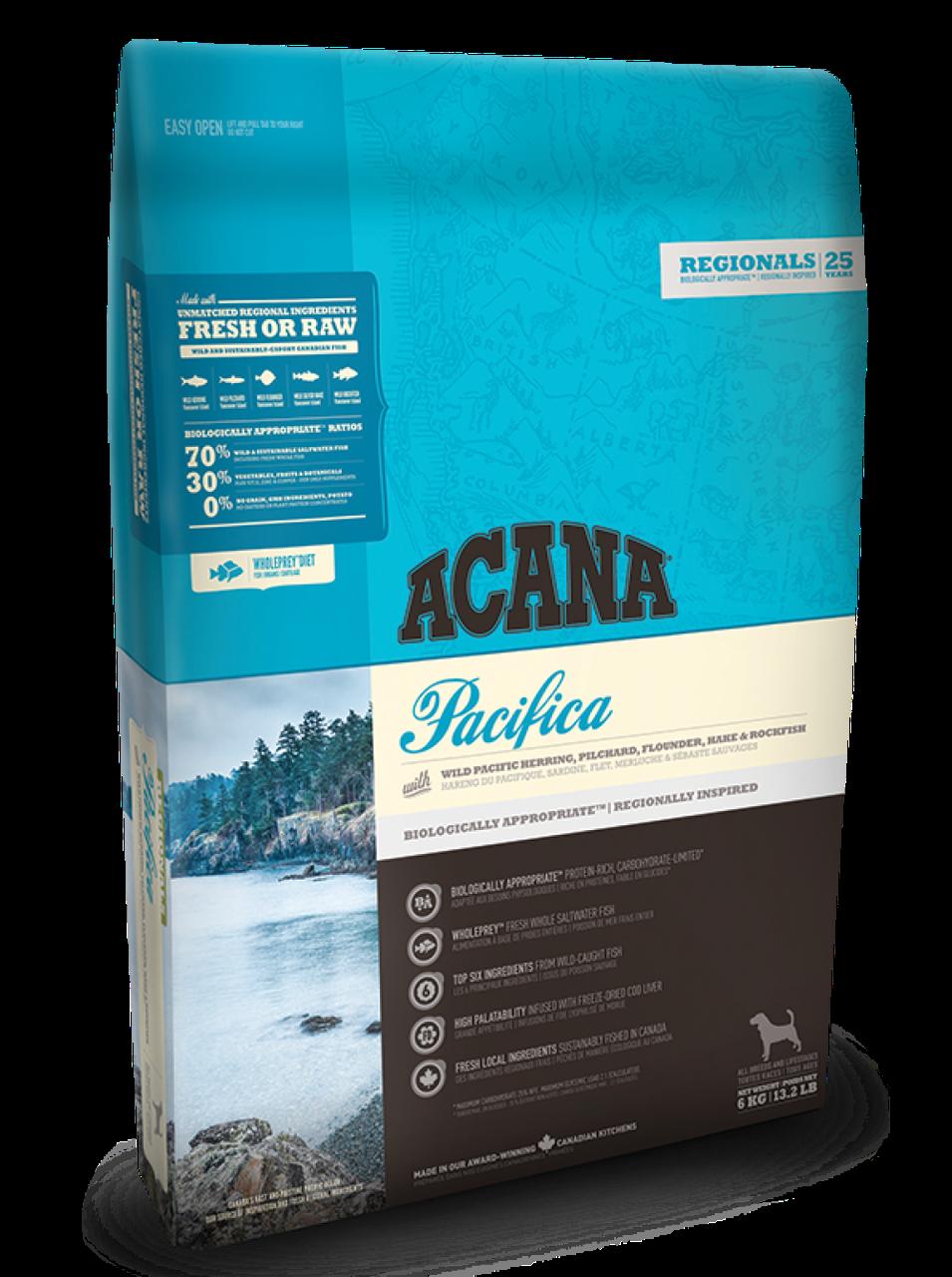 Корм для собак Acana Pacifica 6кг