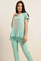 Блузка «Бейлиз» цвета мяты
